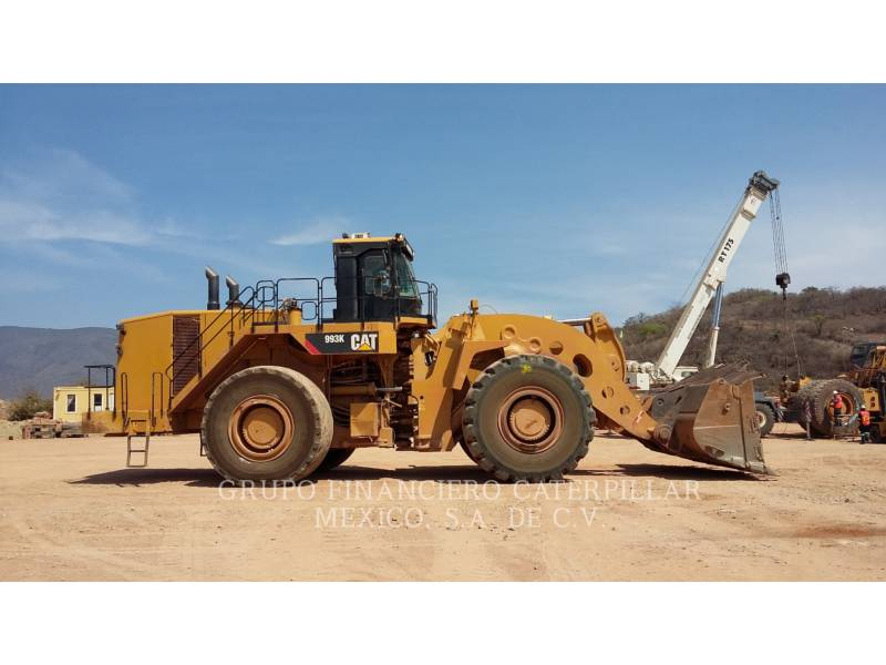 CATERPILLAR PÁ-CARREGADEIRAS DE RODAS/ PORTA-FERRAMENTAS INTEGRADO 993K equipment  photo 6