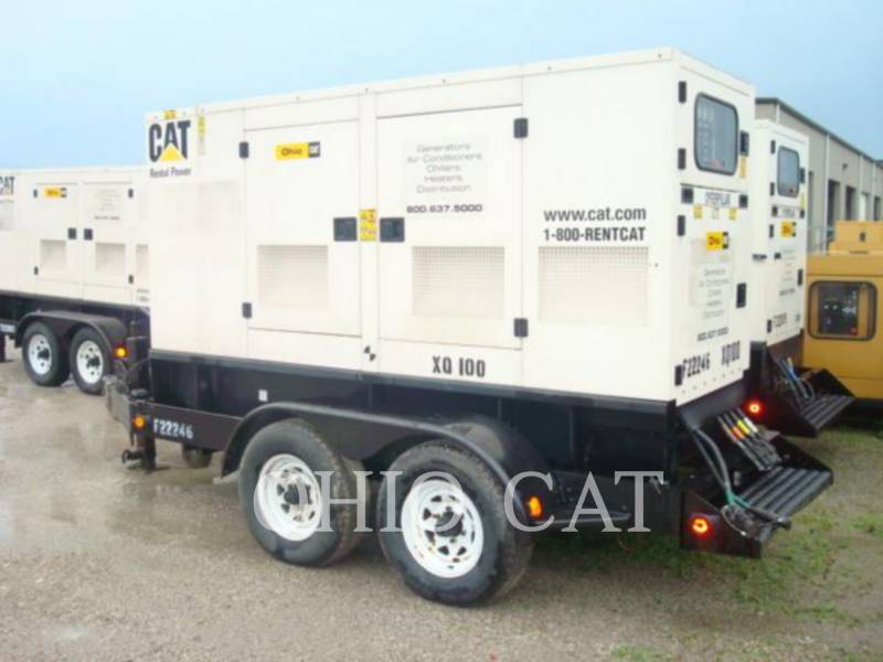 CATERPILLAR GROUPES ÉLECTROGÈNES PORTABLES (OBS) XQ100 equipment  photo 1