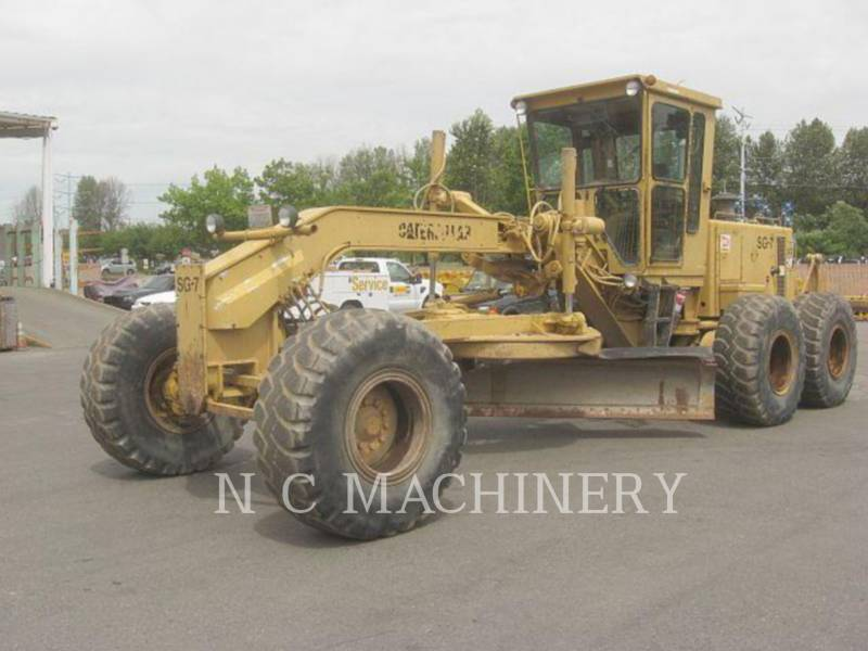 CATERPILLAR MOTONIVELADORAS 14G equipment  photo 1