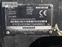 YANMAR KETTEN-HYDRAULIKBAGGER VIO25-4 equipment  photo 2