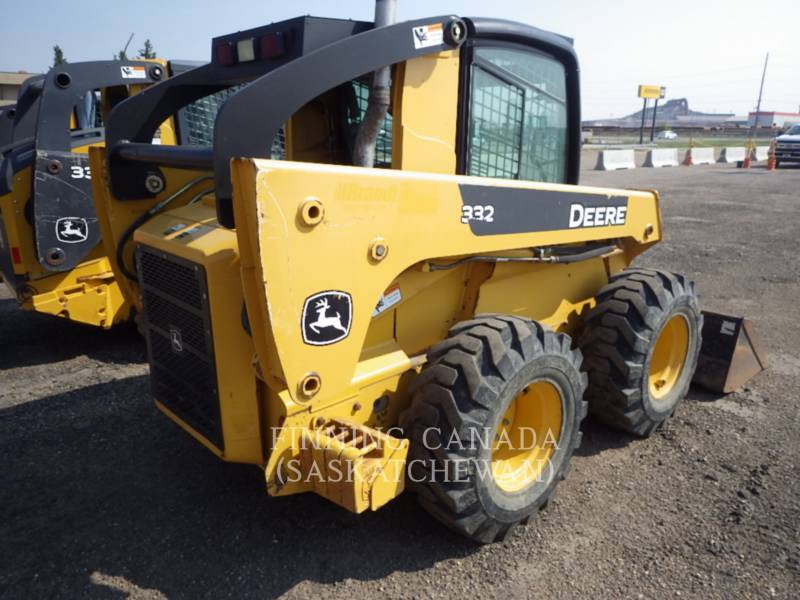 JOHN DEERE SKID STEER LOADERS 332 equipment  photo 2