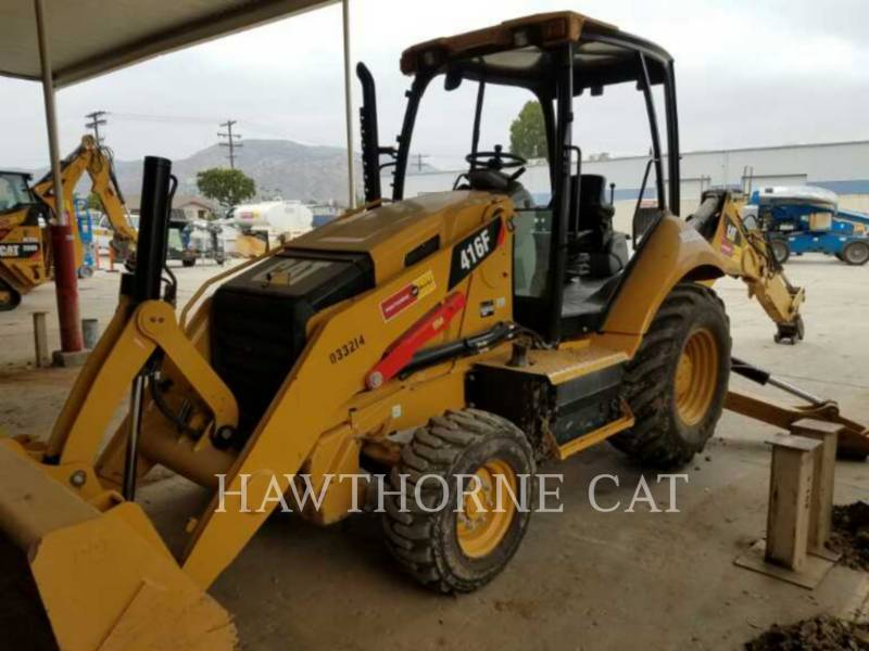 CATERPILLAR BACKHOE LOADERS 416F 2WD equipment  photo 1