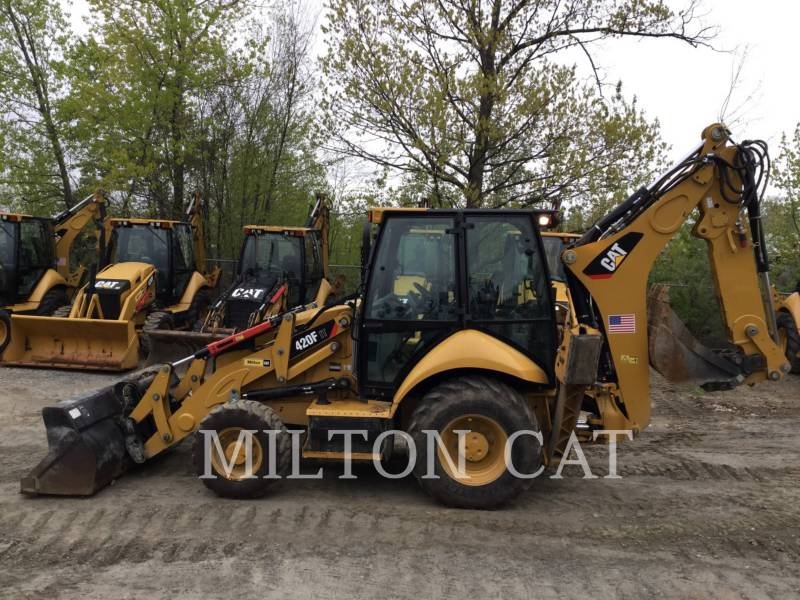 CATERPILLAR CHARGEUSES-PELLETEUSES 420F IT equipment  photo 8