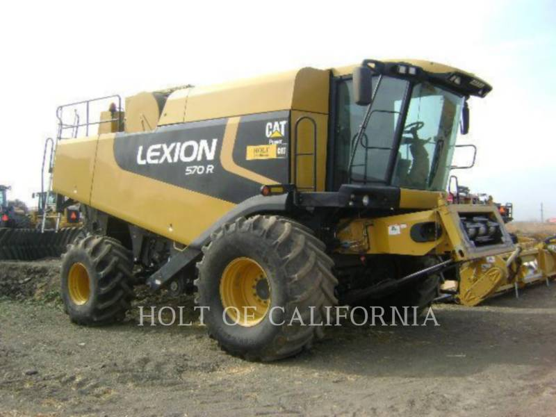 LEXION COMBINE COMBINE 570R G11074 equipment  photo 1