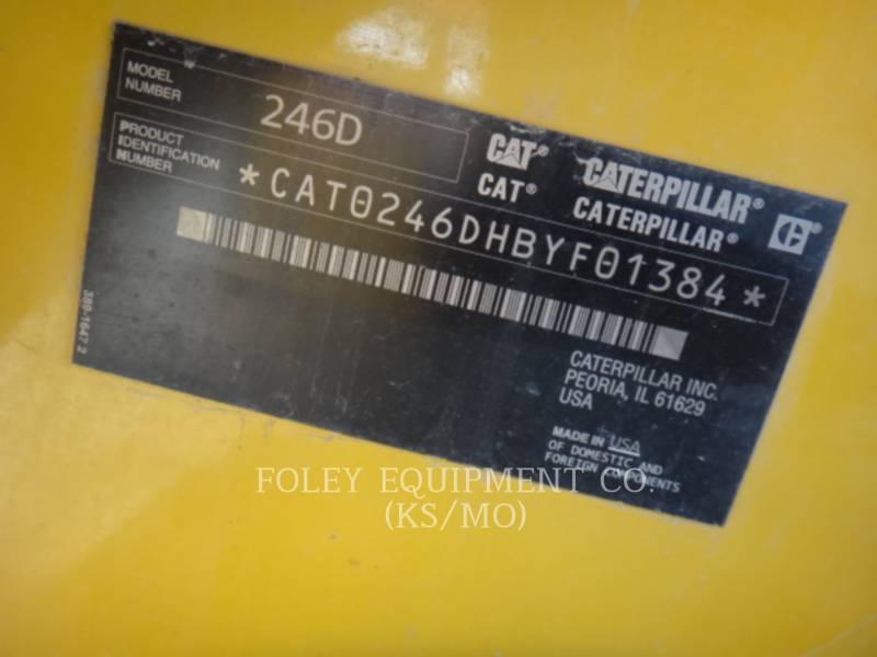 CATERPILLAR ŁADOWARKI ZE STEROWANIEM BURTOWYM 246DSTD1CA equipment  photo 2