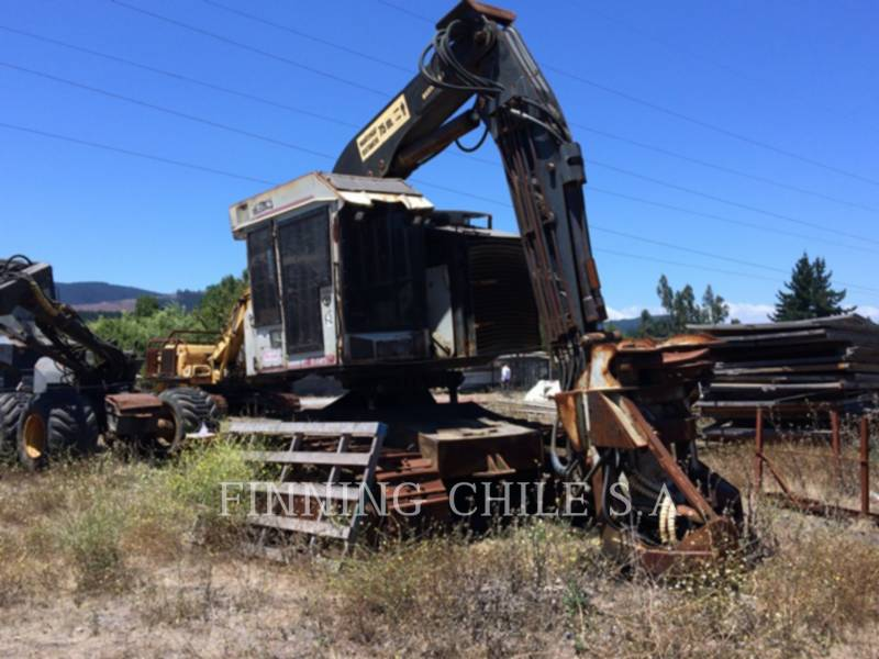 TIMBCO FORESTRY - FELLER BUNCHERS - TRACK T445D equipment  photo 5