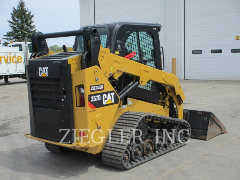 CATERPILLAR CARGADORES MULTITERRENO 257DS equipment  photo 3