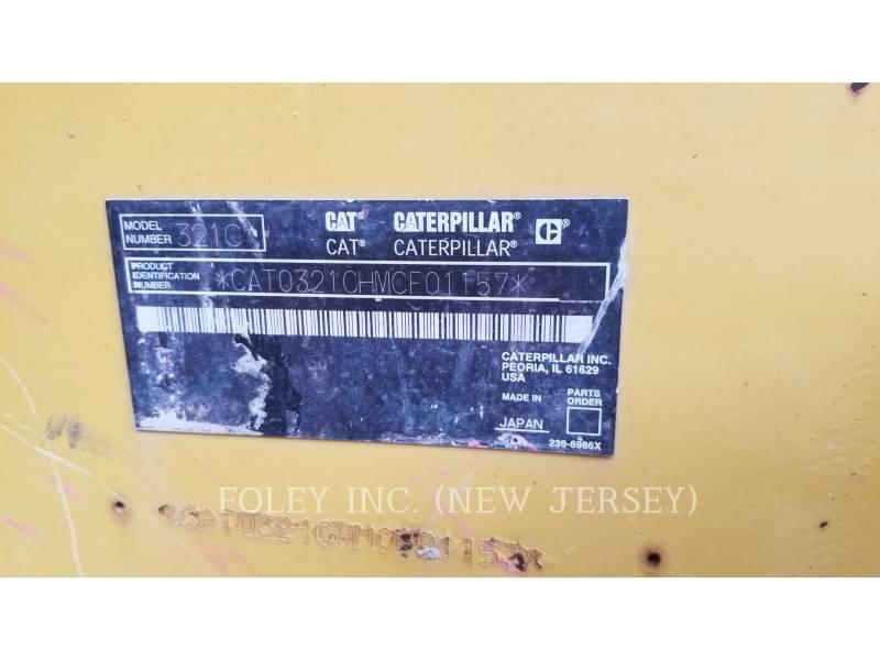 CATERPILLAR ESCAVATORI CINGOLATI 321C LCR equipment  photo 10