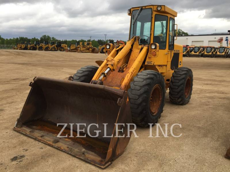 DEERE & CO. WHEEL LOADERS/INTEGRATED TOOLCARRIERS 544C equipment  photo 3