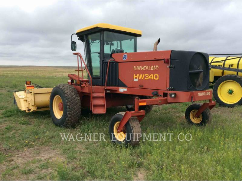 NEW HOLLAND LTD. MATERIELS AGRICOLES POUR LE FOIN HW340 equipment  photo 2
