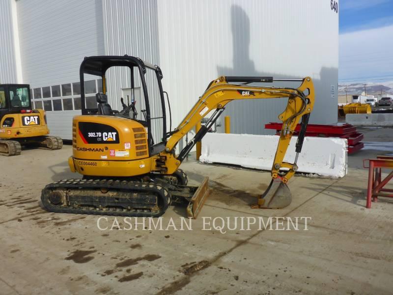CATERPILLAR ESCAVADEIRAS 302.7D CR equipment  photo 2