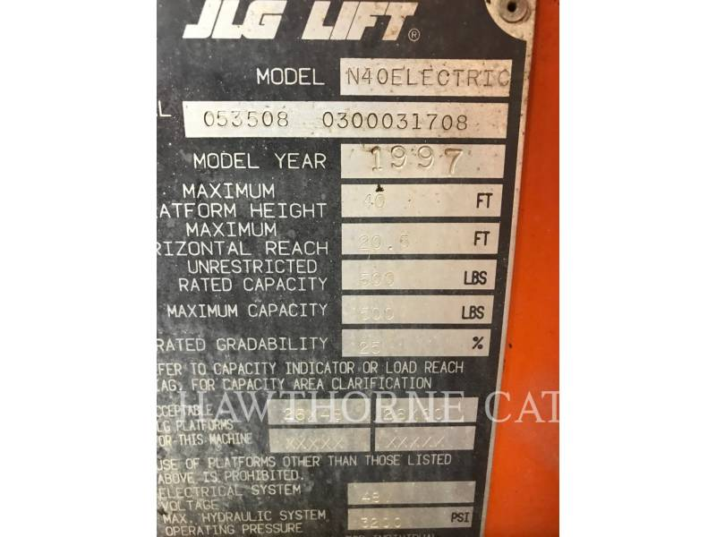 JLG INDUSTRIES, INC. LIFT - BOOM 40E(N) equipment  photo 11