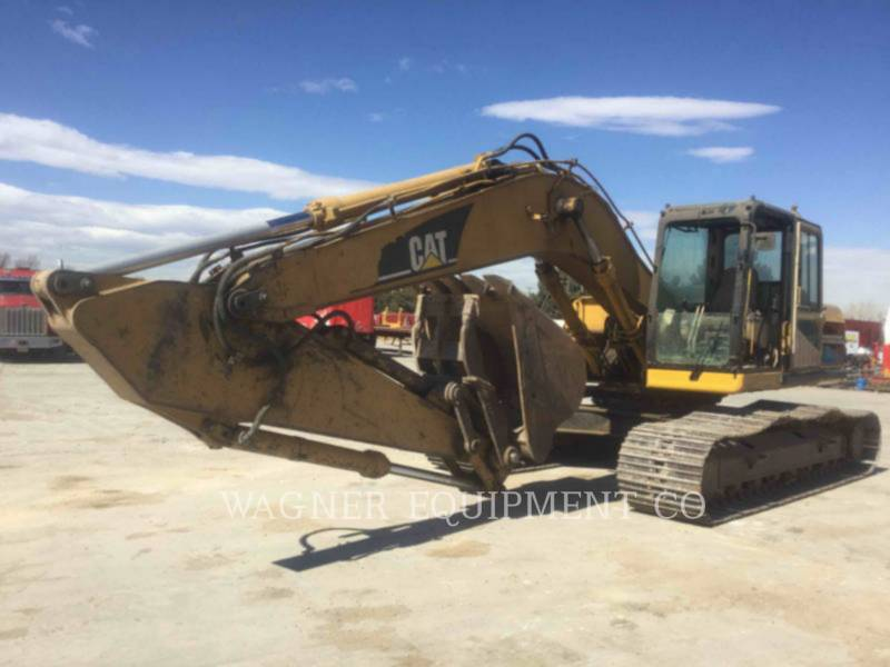 CATERPILLAR TRACK EXCAVATORS 322BL THB equipment  photo 1