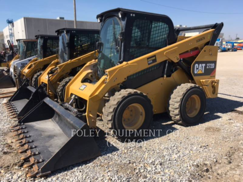 CATERPILLAR SKID STEER LOADERS 272DSTD2CA equipment  photo 2