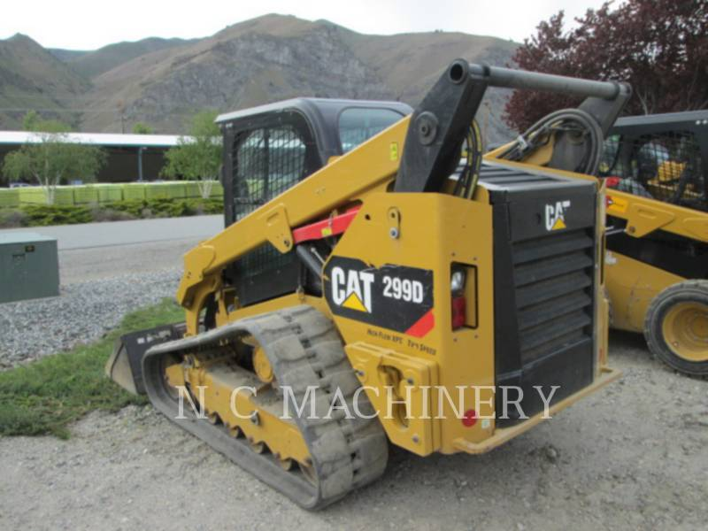 CATERPILLAR SKID STEER LOADERS 299D1 H3CB equipment  photo 3