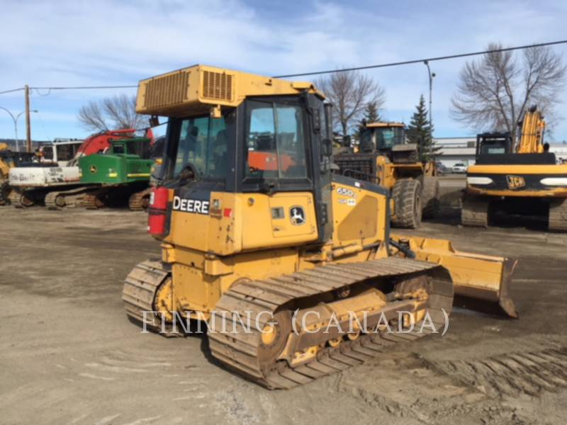 JOHN DEERE TRACK TYPE TRACTORS 650J equipment  photo 4