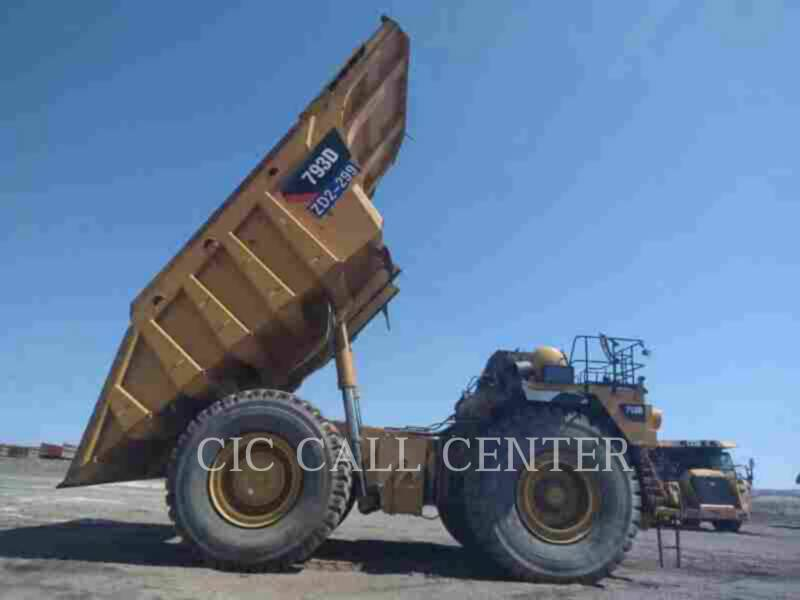 CATERPILLAR OFF HIGHWAY TRUCKS 793D equipment  photo 8