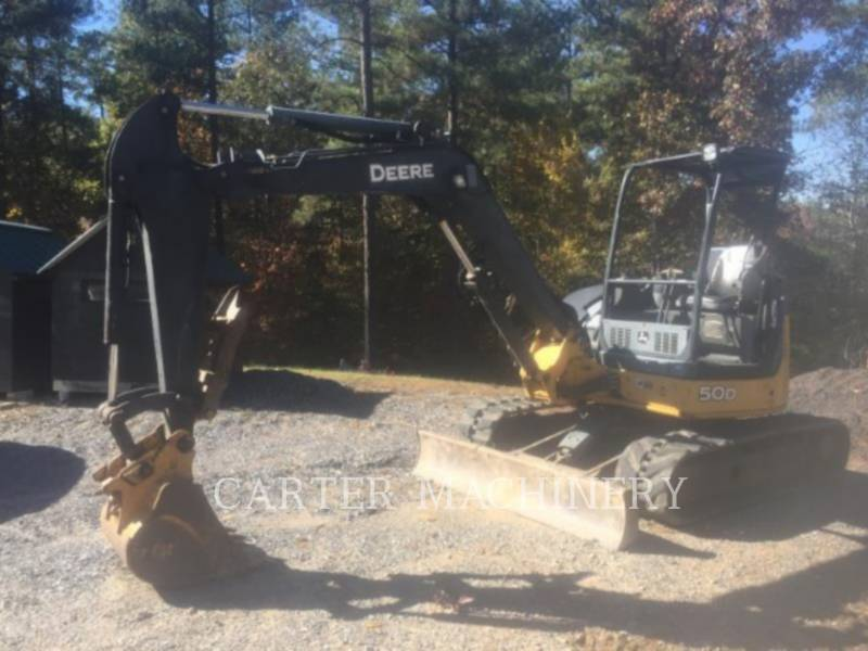 DEERE & CO. TRACK EXCAVATORS DER 50D equipment  photo 4