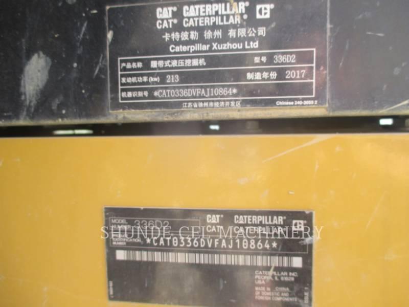 CATERPILLAR TRACK EXCAVATORS 336D2 equipment  photo 2