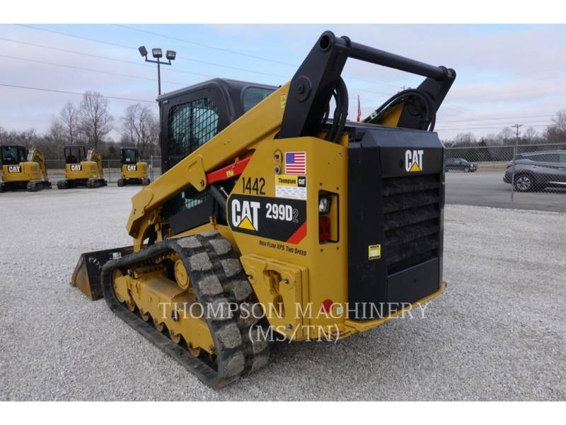 CATERPILLAR MULTITERREINLADERS 299D2 equipment  photo 3