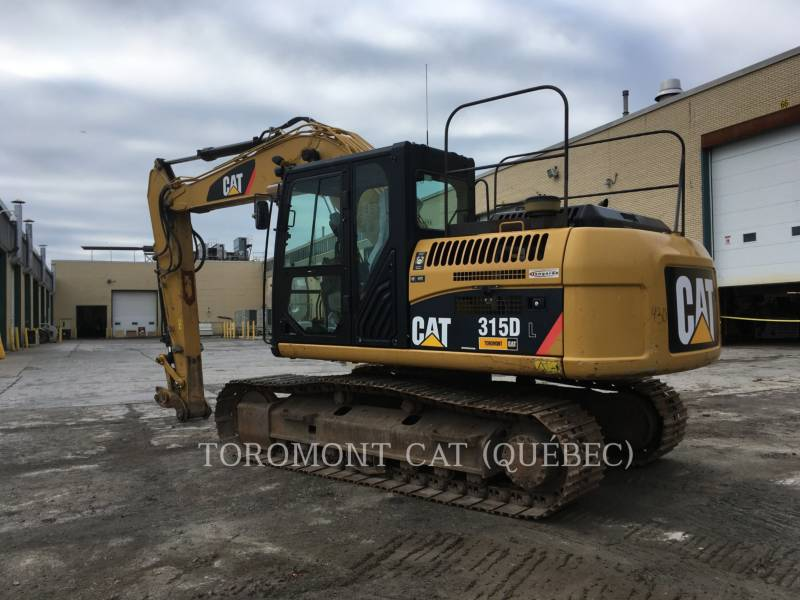 CATERPILLAR EXCAVADORAS DE CADENAS 315DL equipment  photo 3