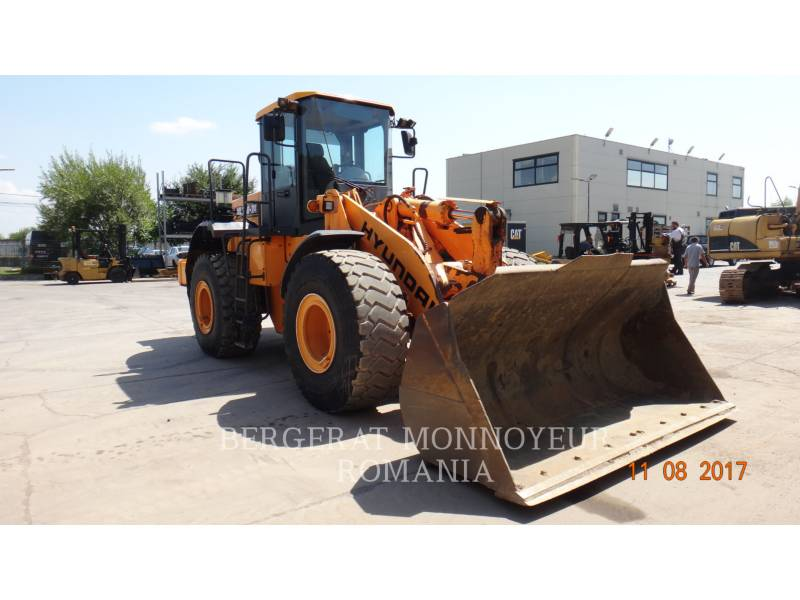 HYUNDAI CONSTRUCTION EQUIPMENT RADLADER/INDUSTRIE-RADLADER HL760-7A equipment  photo 3