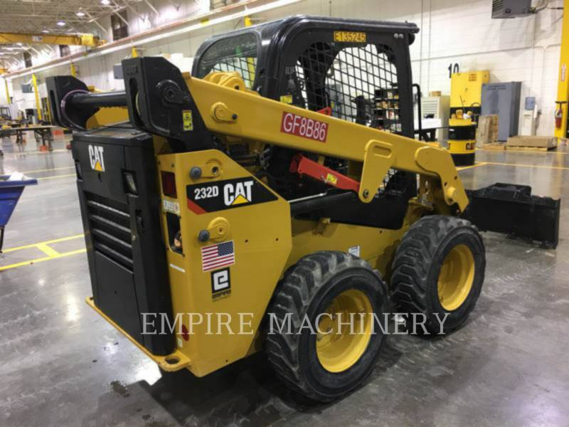 CATERPILLAR CHARGEURS COMPACTS RIGIDES 232D equipment  photo 3
