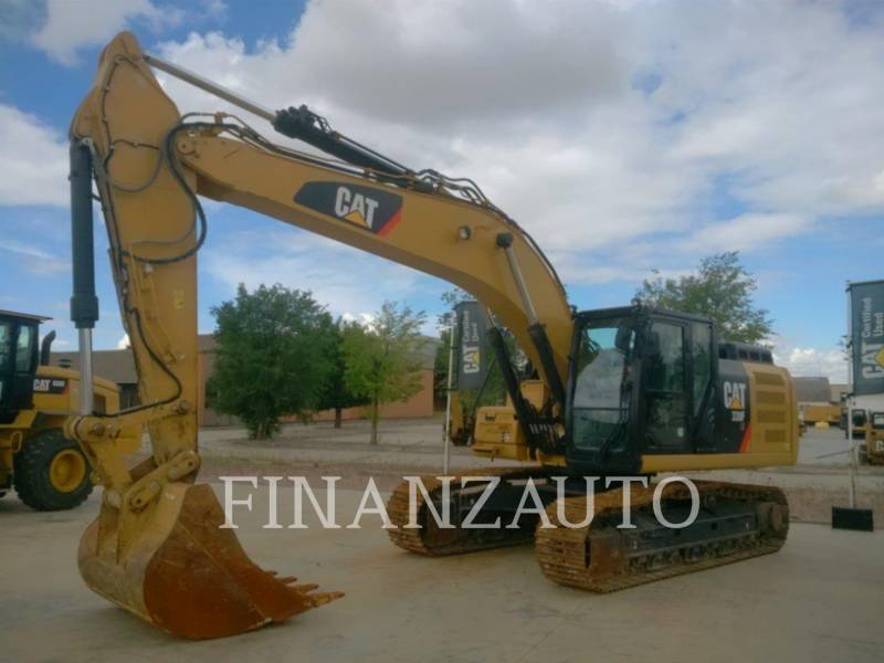CATERPILLAR TRACK EXCAVATORS 330FLN equipment  photo 2