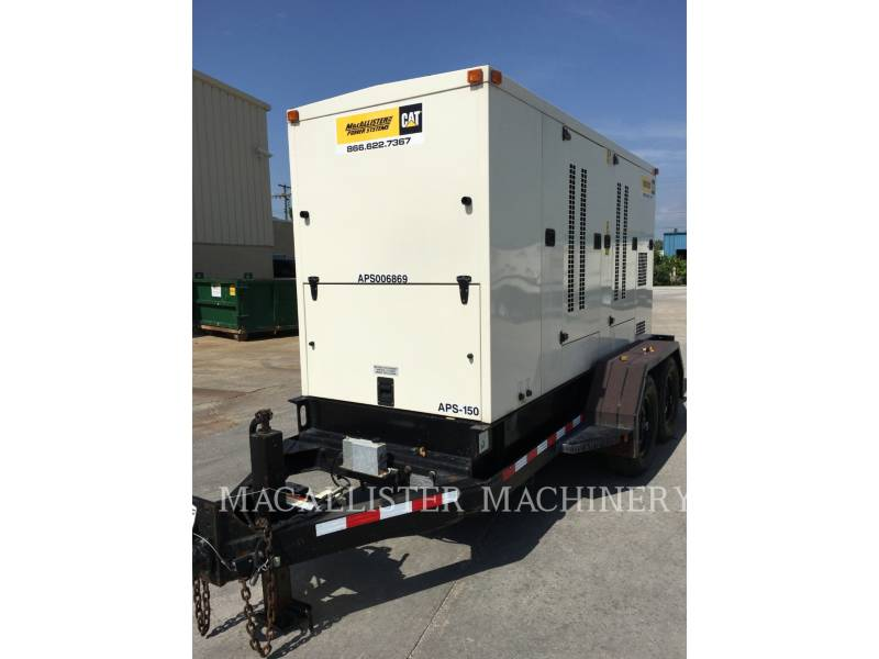 PERKINS PORTABLE GENERATOR SETS APS150 equipment  photo 12