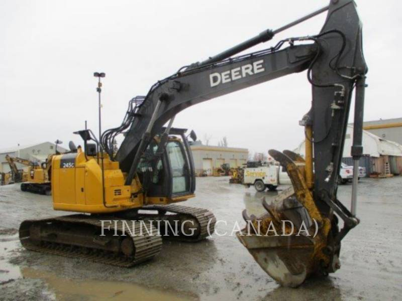 JOHN DEERE PELLES SUR CHAINES 245G equipment  photo 2