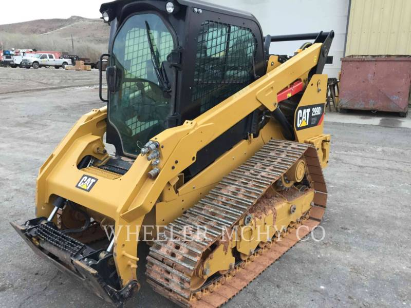 CATERPILLAR CARGADORES MULTITERRENO 299D2XHPST equipment  photo 3