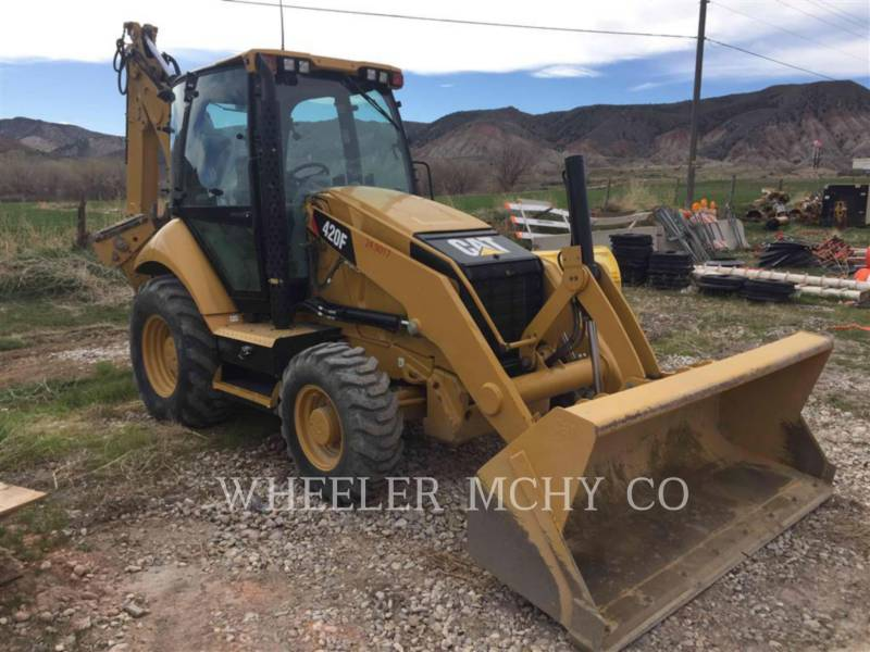 CATERPILLAR BAGGERLADER 420F E equipment  photo 1