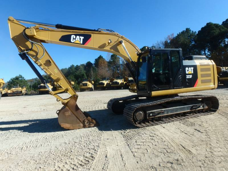 Caterpillar EXCAVATOARE PE ŞENILE 323FL equipment  photo 2