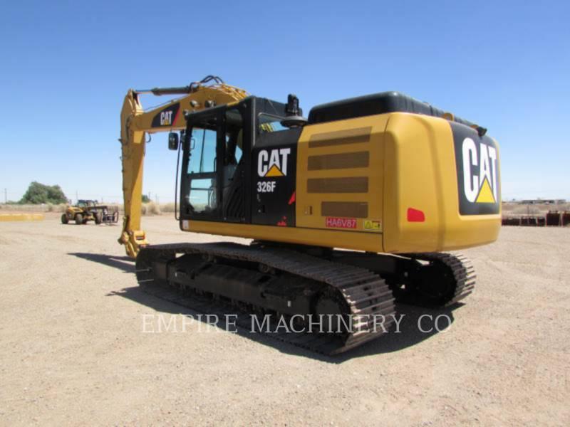 CATERPILLAR トラック油圧ショベル 326FL equipment  photo 3