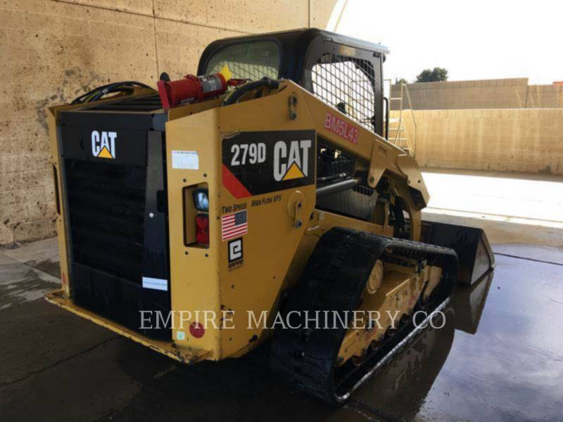 CATERPILLAR KOMPAKTLADER 279D XPS equipment  photo 3