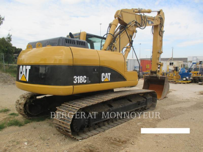 CATERPILLAR PELLES SUR CHAINES 318C equipment  photo 5
