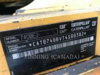 CATERPILLAR ARTICULATED TRUCKS 740BEJ equipment  photo 6