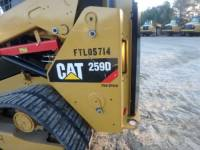 CATERPILLAR CARGADORES MULTITERRENO 259D equipment  photo 22