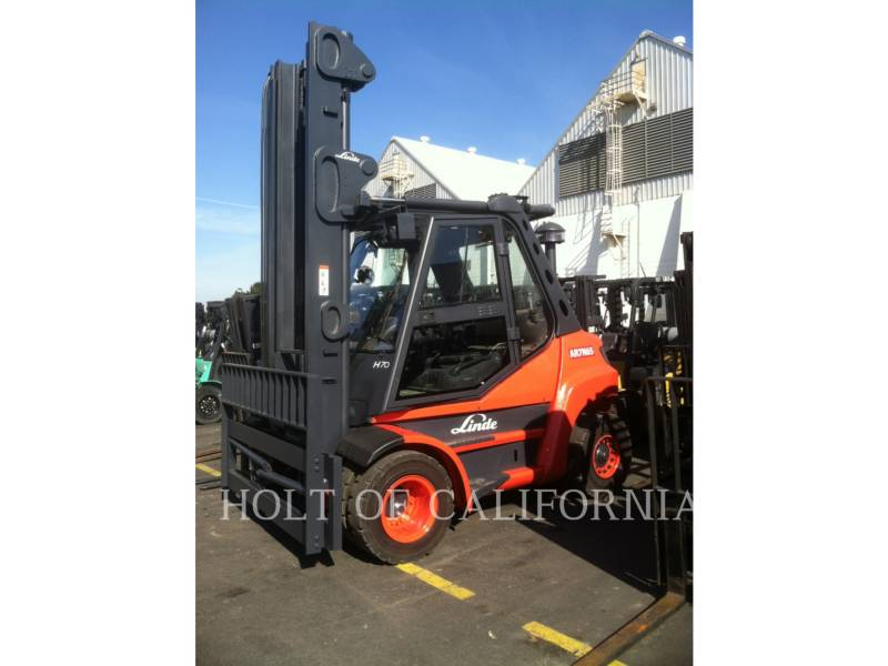 LINDE FORKLIFTS H70D equipment  photo 1