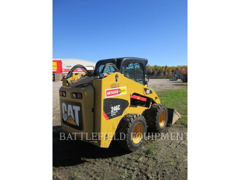 CATERPILLAR KOMPAKTLADER 246C equipment  photo 3