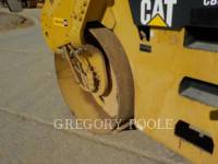 CATERPILLAR VIBRATORY DOUBLE DRUM ASPHALT CB-54 equipment  photo 17