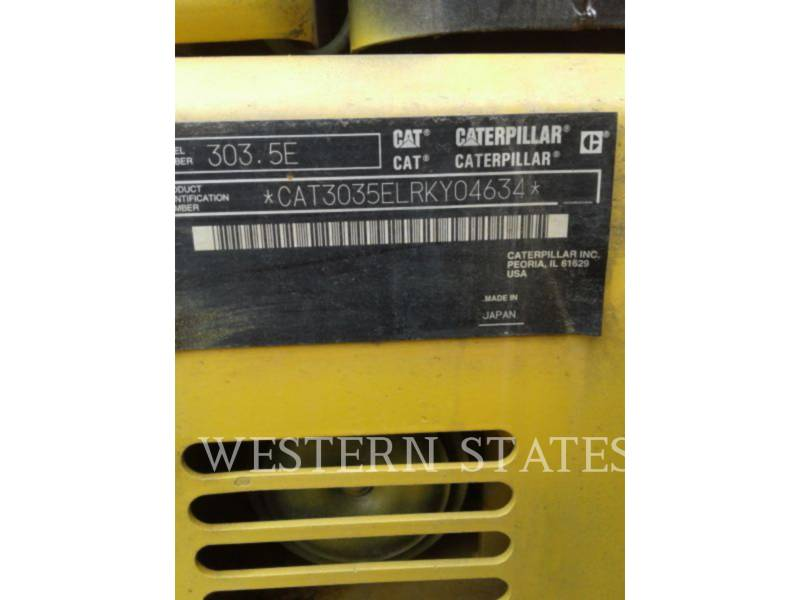 CATERPILLAR EXCAVADORAS DE CADENAS 303.5 E CR equipment  photo 5