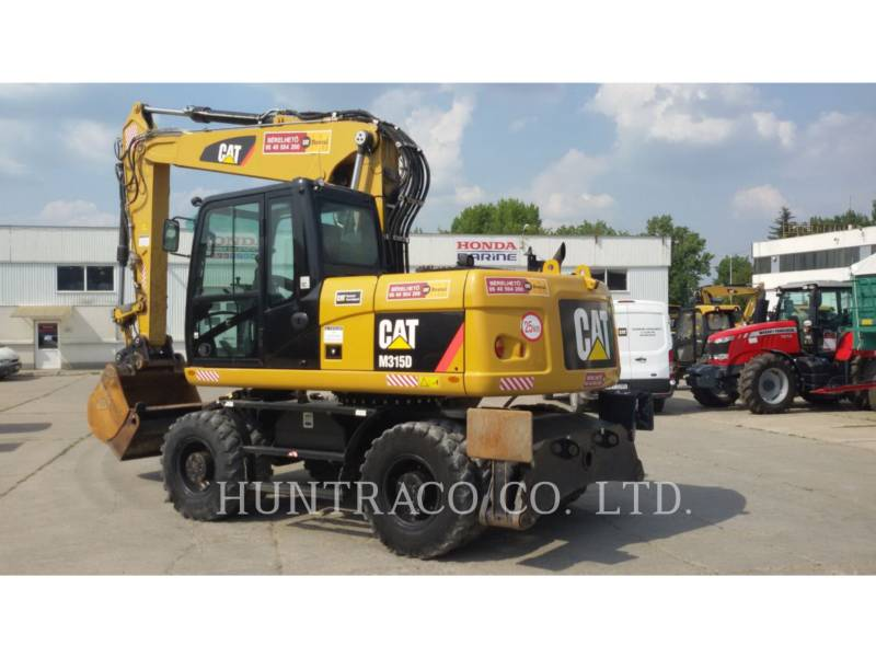 CATERPILLAR WHEEL EXCAVATORS M315D equipment  photo 2