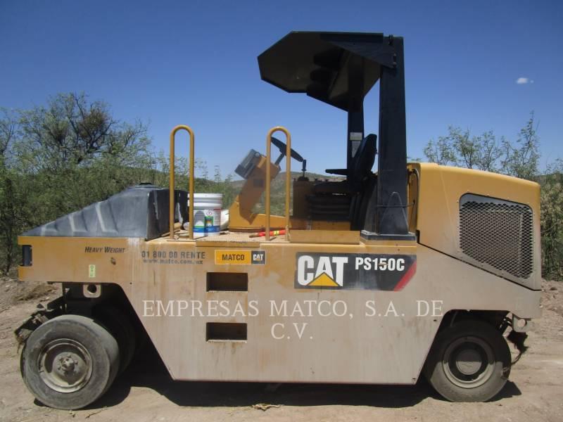 CATERPILLAR GUMMIRADWALZEN PS-150C equipment  photo 3