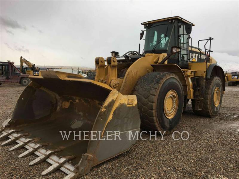 CATERPILLAR WHEEL LOADERS/INTEGRATED TOOLCARRIERS 980M AOR T equipment  photo 1