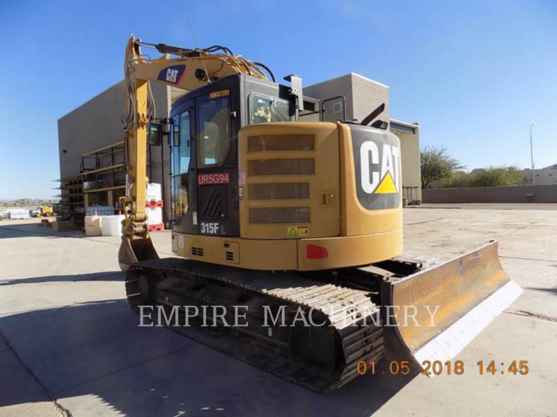 CATERPILLAR TRACK EXCAVATORS 315FLCR equipment  photo 3