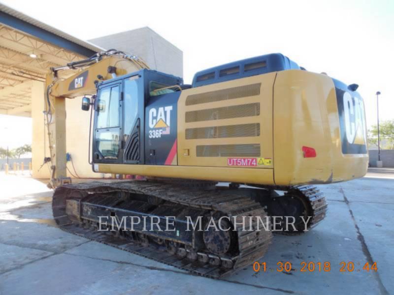 CATERPILLAR EXCAVADORAS DE CADENAS 336FL equipment  photo 3