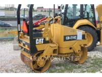 Equipment photo CATERPILLAR CB-214C VIBRATORY DOUBLE DRUM ASPHALT 1