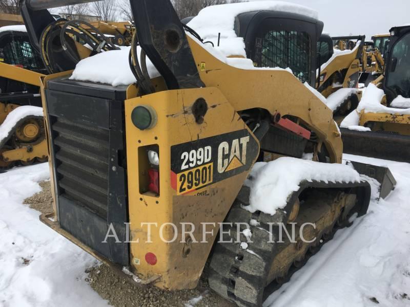 CATERPILLAR スキッド・ステア・ローダ 299D equipment  photo 4