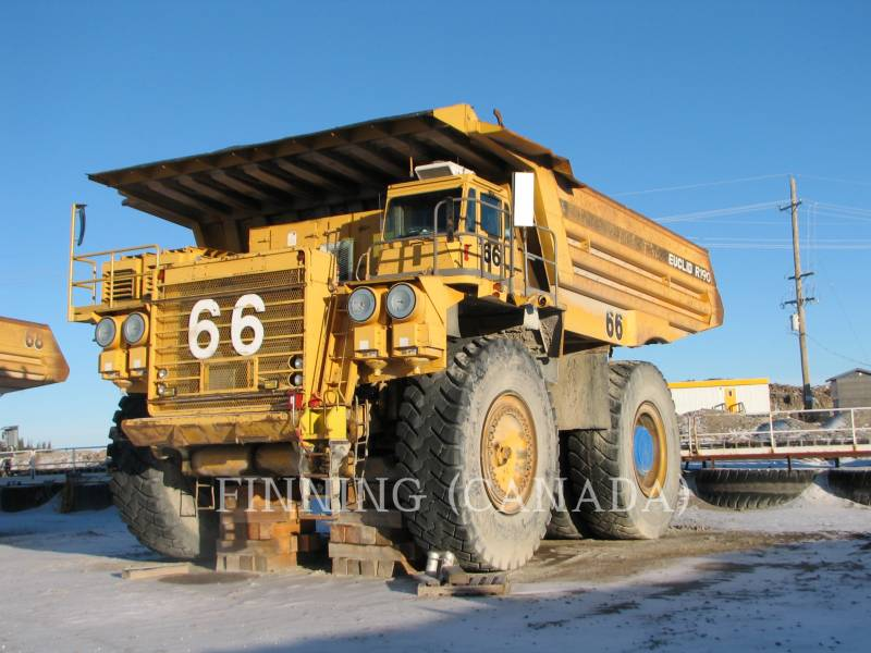 EUCLID-HITACHI OFF HIGHWAY TRUCKS R-190 equipment  photo 1